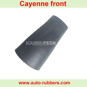 Cayenne model front Airmatic suspension repair kits Rubber Sleeve Bladder shock absorber luftfederbeine repair kits rubber Bellow for Porsche Cayenne shock absorber(بالن کمک فنر)