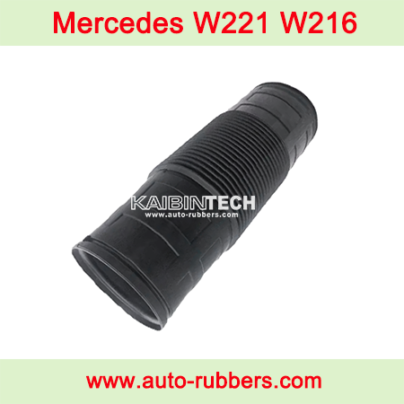 Mercedes-W221-W216-ABC-front-air-suspension-airmatic-shock-absorber-repair-kits-dust-cover-boot-A2213300085-221-320-78-13-221-320-02-13