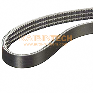 Raw Edged Coged Banded-v-belt