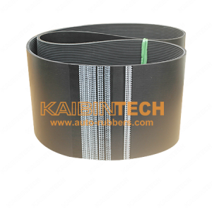 Multi-rib V-belts are available with PJ, PH, PK, PM section