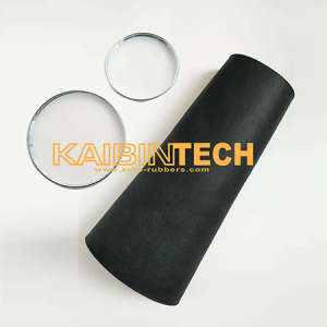 Kaibintech rubber sleeve bladder with clamps rings