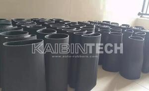 Rubber bladder sleeve for air spring suspension air strut shock absorber