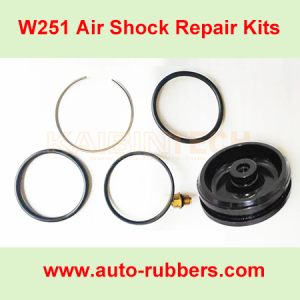 Front-Upper-Metal-Plate-and-repair-kits-o-rings-for-Mercedes-Benz-Air-Suspension-Parts-W251-OE-A2513203013