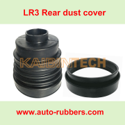 Rubber Dust Cover for Land Rover Discovery 3 4 Range Rover Sport, replacement part for air suspension strut and repair kit shock absorber.