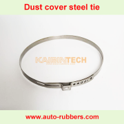 Air Suspension repair kit shock absorber assessories Steel Tie clamp tie crimp steel band For Air Spring Dust Cover boot