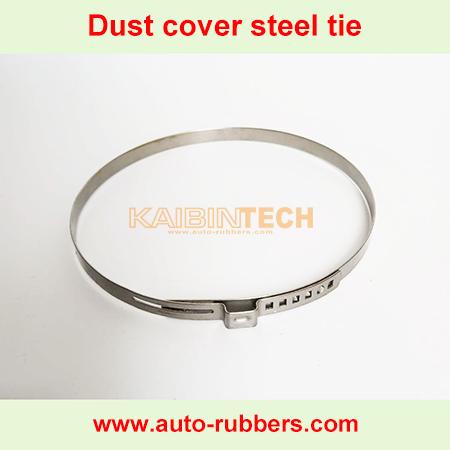 Air-spring-suspension-shock-absorber-repair-kit-dust-cover-boot-steel-tie-crimping ring
