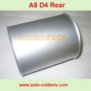 Audi-A8-D3-D4-REAR-PILLOWS-ALUMINUM-BOOTS-back-bags-ir-Suspension-Repair-Kits-Aluminum-Cover-For-Audi-A8-D3-REAR-BOOTS.