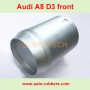 Audi A8 D3 4E Air Shock Absorber Body part air spring repair Kit Metal Boot Aluminum Case Cover 4E0616040 Suspension Pneumatic Spare Parts
