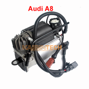 Compressor Pump for Audi A8 D3 Type 4E 2002-2010 6/8 Cylinder Gas Engine E0616007B Airmatic Air Suspension.