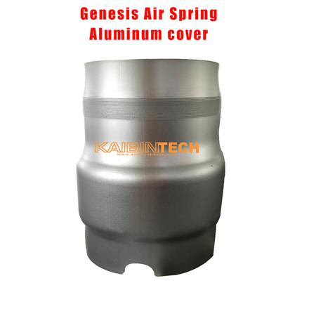 Hyundai-Genesis-Air-Spring-Air-Suspension-shock-absorber-replacement-part-repair-kits-Aluminum-Cover