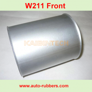 Front Air Suspension Aluminum Covers Can for Mercedes W211 E-Class OEM 2113206113 2113206013