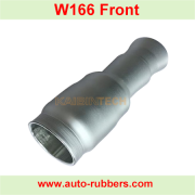 Auto part new aluminum cover aluninum piston for Shock Absorbe Air Suspension Spring For Mercedes ML/GL- Class W166 Airmatic Absorber Accessories A1663201314 A1663201313
