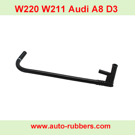 Air-Suspension-Compressor-Curved-Pipe-Tube-for-Mercedes-W220-W211-Audi-A8-D3-Pneumatic-Shock-WABCO-Pump-Kits