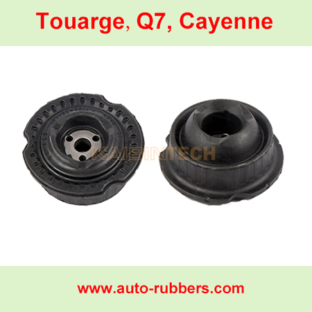 Audi-Q7-VW-Touarge-Cayenne-Front-Rear-Air-Suspension-repair-kit-Top-Rubber-Strut-Mount-OEM-7L6616403B-7L6616404B