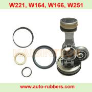 Это ремкомплекты компрессора airmatic для компрессора подвески Mercedes W221 W166 w164 w251.