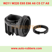 Shock absorber Compressor Pump Cylinder head With Piston seal Ring Air Suspension Compressor For W220 W211 W219 E65 E66 C5 C7 A6 A8 Jaguar LR2 XJ6