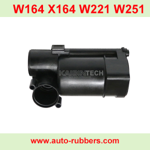 brand new plastic barrel for airmatic 1643201204 Repair Kits plastic part for Mercedes W164 X164 ML GL W221 W251 1643201204