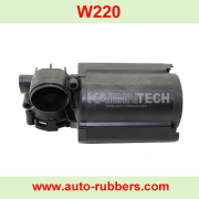 Air suspension compressor replacement parts (ремкомплект насоса компрессора) plastic barrel plastic parts for W220 airmatic compressor.
