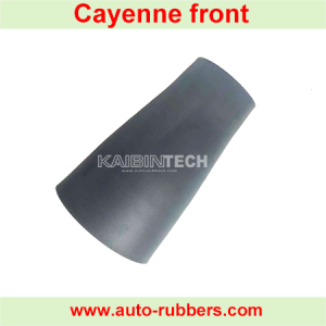 Cayenne model front Airmatic suspension repair kits Rubber Sleeve Bladder shock absorber luftfederbeine repair kits rubber Bellow for Porsche Cayenne shock absorber(بالن کمک فنر)