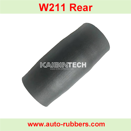 W211-rear-air-suspension-strut-rubber-bladder-sleeve