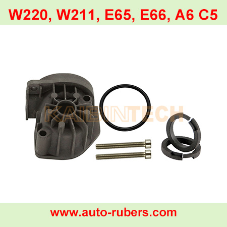 W220-W211-E65-E66-A6-C5-Compressor Cylinder Head Repair for AUDI A6 C5 ALLROAD A8 D3 W220,Air-Suspension-Compressor-Screw-bolts-for-Gas-Spring-Pump-Cylinder-head-and-Seal-O-rings