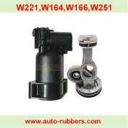 Air Suspension Compressor repair kit Cylinder Drier Connecting rod For Mercedes W220 W211 BMW E65 E66 Audi A6 C5