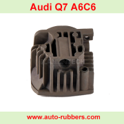 alloy Cylinder Cover for suspension compressor pump, air compressor pump repair kits cylinder for Audi Q7 4F0616005E 4L0698007 BMW E53