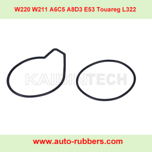 Touareg L322 Air Suspension Compressor fix kits seal ring cylinder head seal rubber o ring