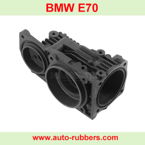 Air-suspension-compressor-cylinder-cover head-for-BMW-E70