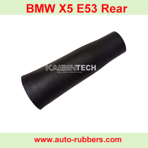 BMW X5 E53 Airmatic Pneumatines pakabos amortizatoriu Luftfederbeine Reparatursätze Gummiblase