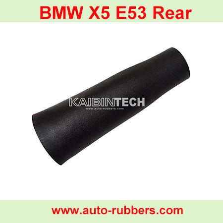 BMW-X5-E53-Rear-Rubber-bladder-sleeve-for-air-spring-suspension-strut-shock-absorber-for-BMW-X5