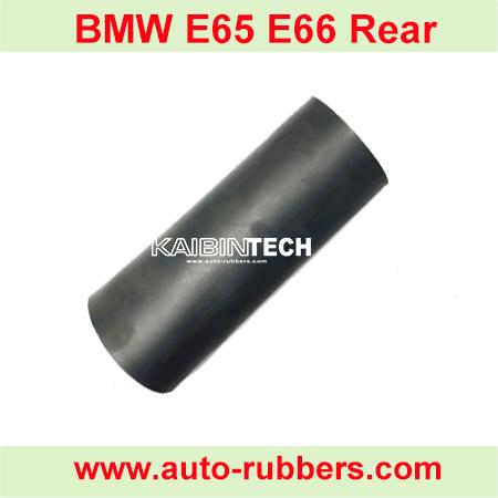 E65-E66-Rear Kaibintech-rear-rubber-bladder-sleeve-for-BMW air-spring-suspension-strut-shock-absorber