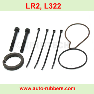 Wabco Air Suspension Compressor repair kits seal ring cylinder piston rod ring ptpe seal rings piston rings rings and screw bolt