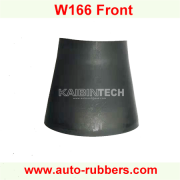 Rubber Cylinder(пневмобаллона рукава) Rubber Bladder for Audi rear Rubber Sleeve(سیلندر لاستیکی عقب) Air Spring For Mercedes Benz W166