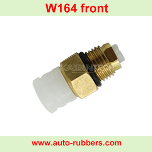 Air ride suspension repair kits copper control realese valve auto spare pars for For Mercedes Benz W164