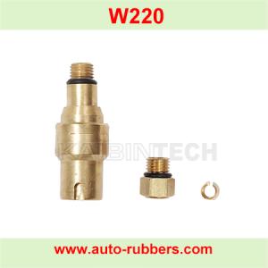 صمام الهواء النحاسي لإصلاح امتصاص الصدمات تعليق الهواء مرسيدس بنز W220