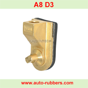 copper base for air valve air realese valve assemply on Air Suspension fix kits airmatic repair parts on Audi A8 D3 4E