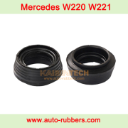 Mercedes Benz W166 front right & left Air Suspension Air Shock Repair Kit lower rubber isolator airmatic rubber bushing mount