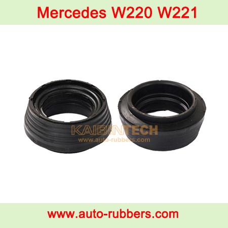 W220-Mercedes-Benz-Air-Suspension-strut-Shock-Abosorber-Parts-Down-rubber-washer-bushing-mount-2203202438