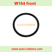W221 W164 W166 W251 W220 Airmatic Suspension Compressor Cylinder seal ring cylinder rubber rings O-ring rubber o rings.
