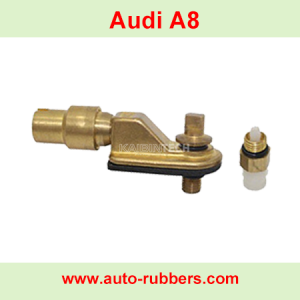 Audi A8 Air ride suspension fix kits copper air valve assembly airmatic strut 4E0616005D repair Kits realese valve auto spare pars for shock absorber replacement part