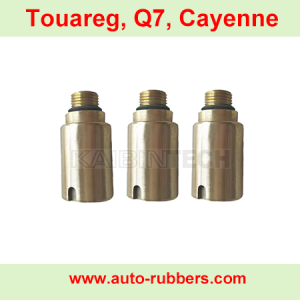 Porsche Cayenne Audi Q7 Air ride suspension repair kits copper control realese valve auto spare pars