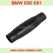 rubber sleeve(резиновый рукав) for BMW E60 E61, Как поменять вышедшую из строя пневматическую подвеску на E60 E61, Օդաճնային հարվածային բարձիկներ փոխարինող մասի վերանորոգում,