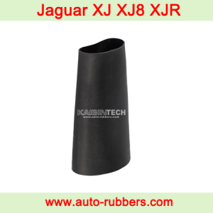 repair Jaguar air suspension leak, change air suspension jaguar rubber, jaguar air suspension fault, jaguar air suspension conversion kit