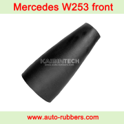MERCEDES BENZ GLC W253 X253 E-CLASS W213 AIR SUSPENSION(معاونات هيدروليك) rubber sleeve(المطاط كم) replacement parts