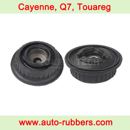 spring suspension repair Kits rubber mount bushing For Porsche Cayenne Audi Q7 Allroad VW Touareg Air ride suspension مساعدات هيدروليك
