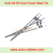 Audi A8 D4 front rar Airmatic suspension fix kit steel tie for dust cover boot