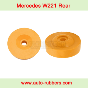 W221 ABC Hydraulic Air Suspension Repair Kit PUR buffer rubber pump block stops For Mercedes Benz ABC shock W221 Rear Shock Absorber fix kit