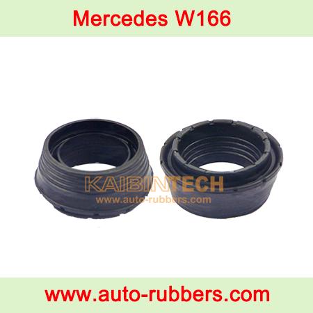 Air-spring-repair-kits-airmatic-strut-Lower-Rubber-Mounting-Air-Shock-Repair-Kit-For-Repairing-Mercedes-W166-Rear-Air-Suspension-rubber-bushing Isolator-A1663206766