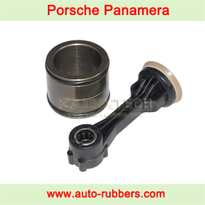 Airmatic suspension compressor pump fix kit Panamera/Jeep Grand Cherokee WK2 piston rod + Porsche Panamera aluminum boot